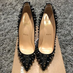 NWT Christian Louboutin Pigalle 120mm spikes